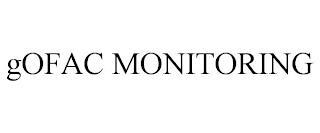 GOFAC MONITORING trademark