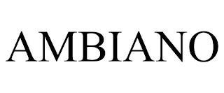 AMBIANO trademark