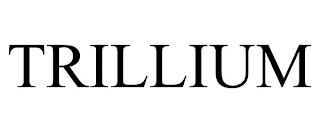 TRILLIUM trademark