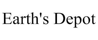 EARTH'S DEPOT trademark