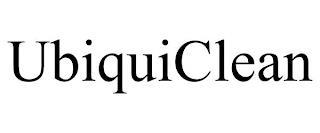 UBIQUICLEAN trademark