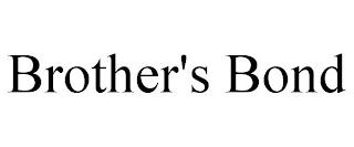 BROTHER'S BOND trademark