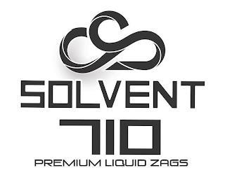 SOLVENT 710 PREMIUM LIQUID ZAGS trademark