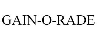 GAIN-O-RADE trademark