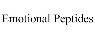 EMOTIONAL PEPTIDES trademark