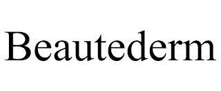 BEAUTEDERM trademark