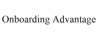 ONBOARDING ADVANTAGE trademark
