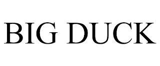 BIG DUCK trademark