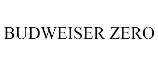BUDWEISER ZERO trademark