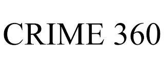 CRIME 360 trademark
