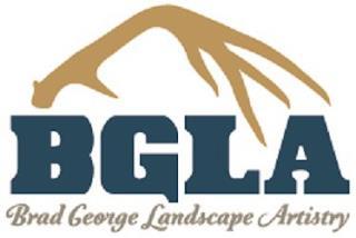 BGLA BRAD GEORGE LANDSCAPE ARTISTRY trademark