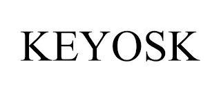 KEYOSK trademark