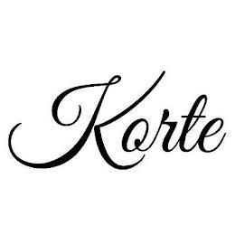 KORTE trademark