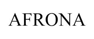 AFRONA trademark