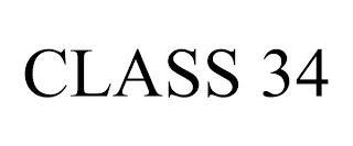 CLASS 34 trademark