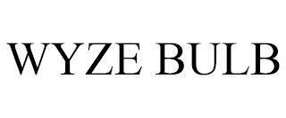WYZE BULB trademark