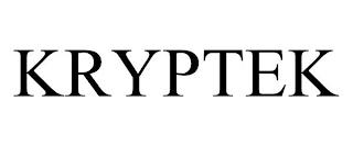KRYPTEK trademark
