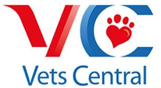 VC VETS CENTRAL trademark