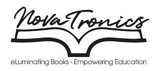 NOVATRONICS ELUMINATING BOOKS - EMPOWERING EDUCATION trademark