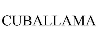 CUBALLAMA trademark
