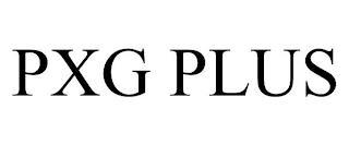 PXG PLUS trademark