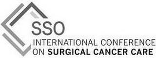 SSO INTERNATIONAL CONFERENCE ON SURGICAL CANCER CARE trademark