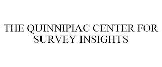 THE QUINNIPIAC CENTER FOR SURVEY INSIGHTS trademark