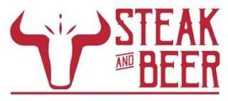 STEAK AND BEER trademark