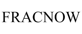 FRACNOW trademark