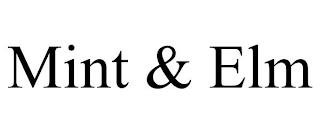 MINT & ELM trademark