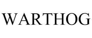 WARTHOG trademark
