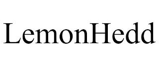 LEMONHEDD trademark