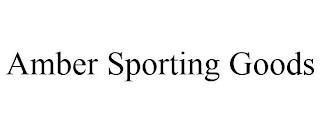 AMBER SPORTING GOODS trademark
