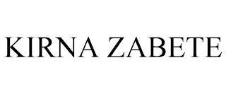 KIRNA ZABETE trademark