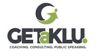GET A KLU. COACHING. CONSULTING. PUBLICSPEAKING. trademark