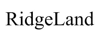 RIDGELAND trademark
