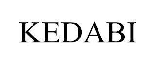 KEDABI trademark