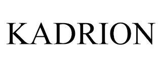 KADRION trademark
