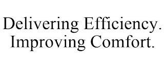DELIVERING EFFICIENCY. IMPROVING COMFORT. trademark