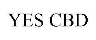 YES CBD trademark