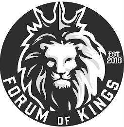 FORUM OF KINGS EST. 2018 trademark