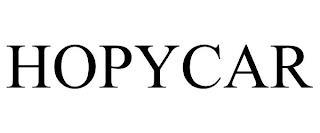 HOPYCAR trademark