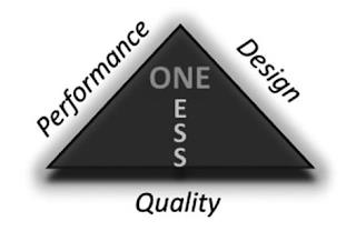 ONE ESS PERFORMANCE DESIGN QUALITY trademark