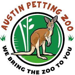 AUSTIN PETTING ZOO WE BRING THE ZOO TO YOU trademark