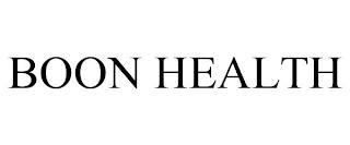 BOON HEALTH trademark