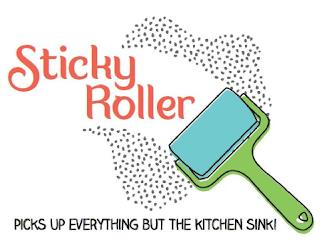 STICKY ROLLER PICKS UP EVERYTHING BUT THE KITCHEN SINK! trademark