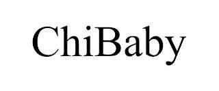 CHIBABY trademark
