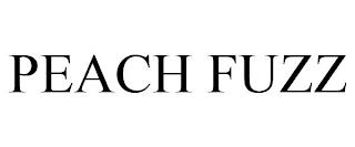 PEACH FUZZ trademark