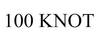 100 KNOT trademark