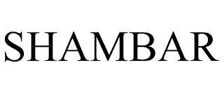 SHAMBAR trademark